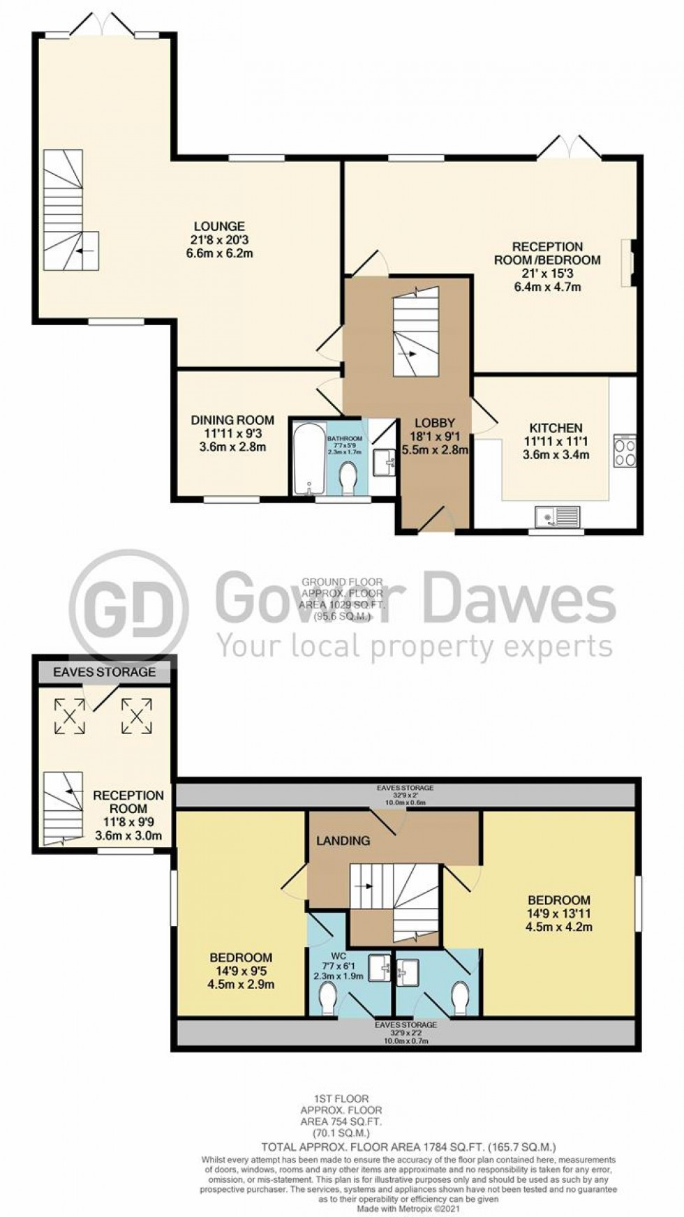 Floorplan for Longley Mews, Farm Road, Orsett Heath